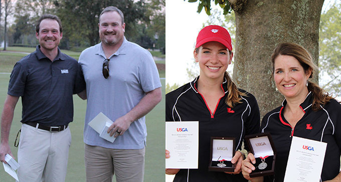 Berthelot/Williams and Abbey/Kay Daniel Win Medalist Honors at U.S. Amateur Four-Ball Sectional Qualifiers
