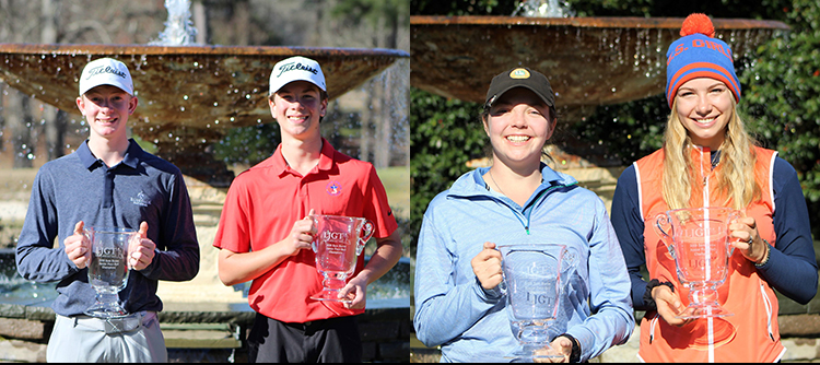 Jack Gilbert/Jack Usner and Cassidy Lambert/Abbey Daniel Win Inagural Sam Burns Junior Four-Ball