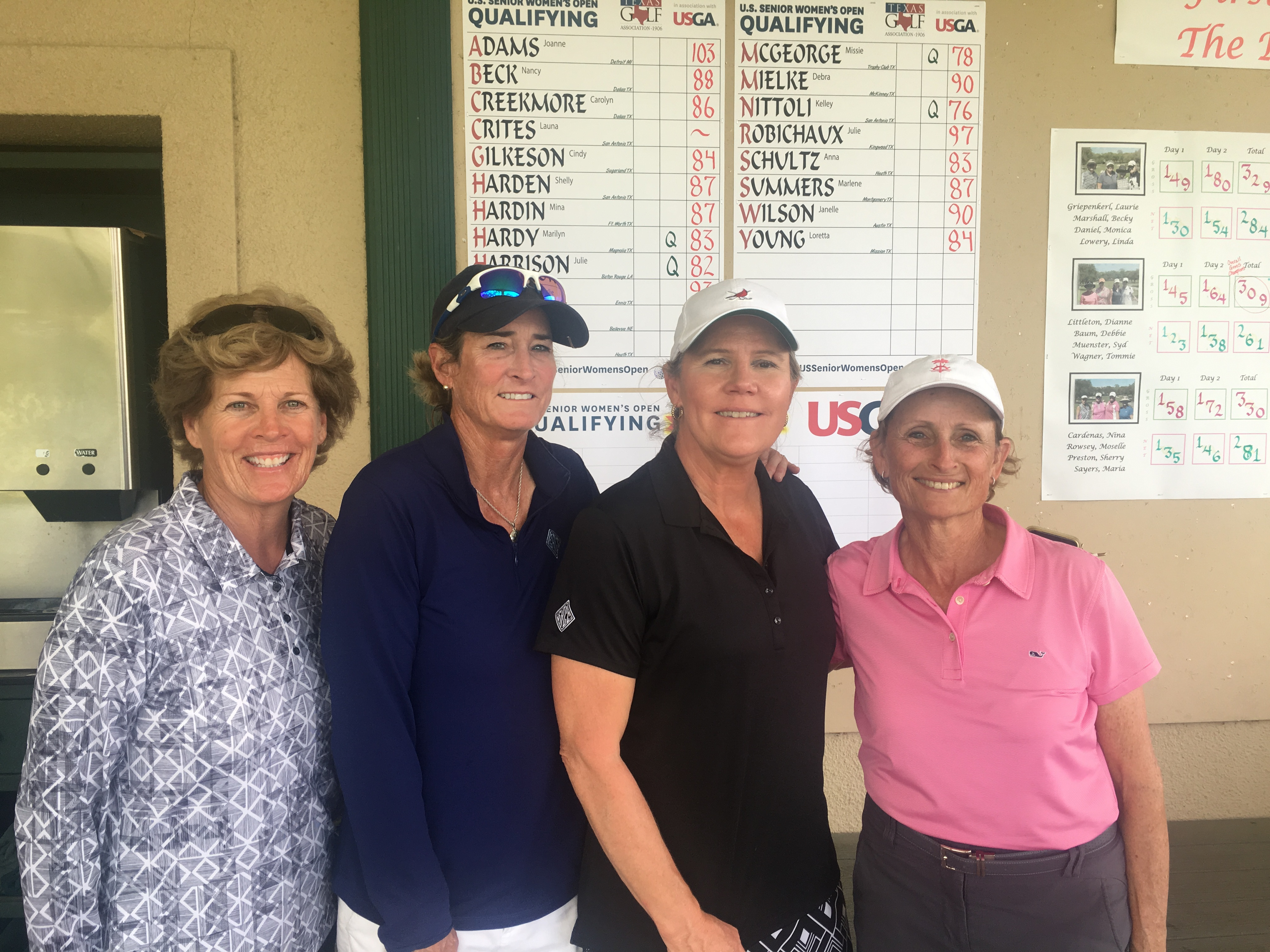 Harrison Qualifies for U.S. Senior Women's Open