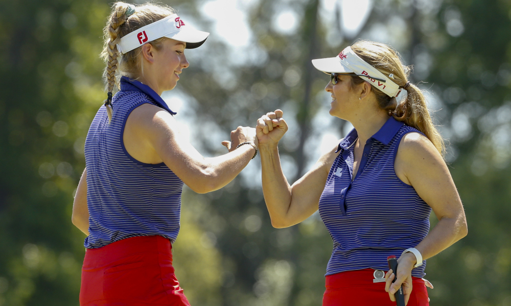 Mother-daughter tandem Kay and Abbey Daniel make history at U.S. Women's Amateur Four-Ball