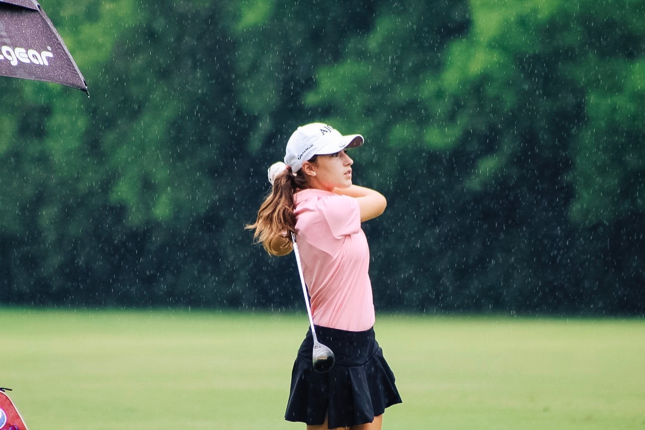 KALE FONTENOT AND LIZA LAPEYRE WIN LOUISIANA JUNIOR GOLF TOUR AT OAKBOURNE COUNTRY CLUB