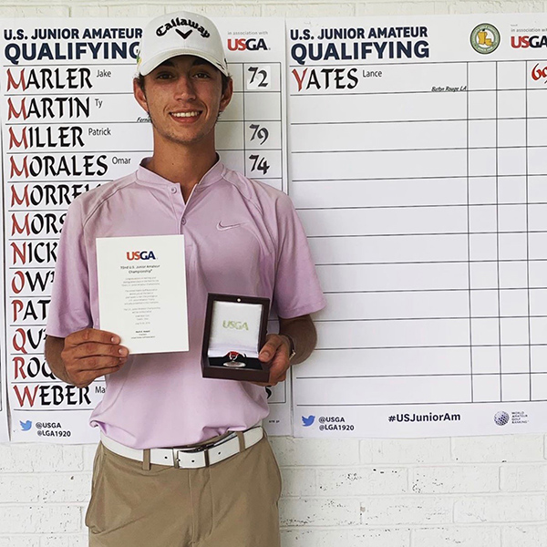 BATON ROUGE'S LANCE YATES QUALIFIES FOR U.S. JUNIOR AMATEUR CHAMPIONSHIP
