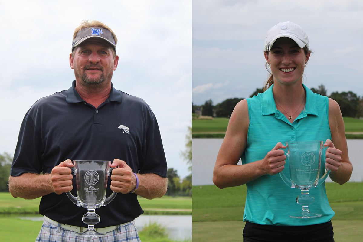 DAVID BARHAM AND CATHERINE HODSON WIN LGA NET AMATEUR CHAMPIONSHIPS