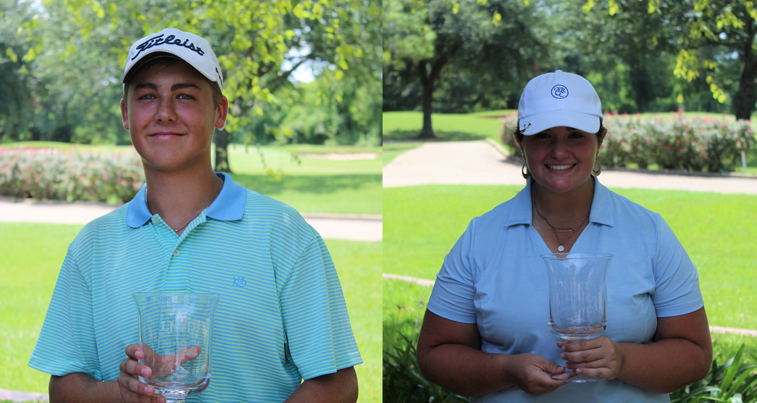 ELI ORTEGO AND KAITLYN MONTOYA WIN LJGT AT OAKWING GOLF CLUB