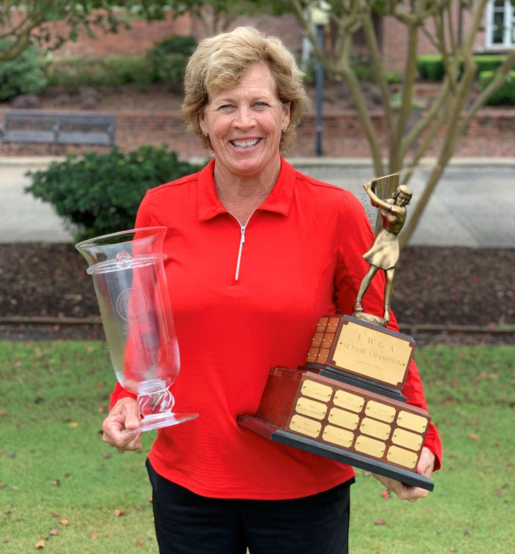 Julie Harrison Wins Fourth Straight LGA Women's Senior Amateur Championship