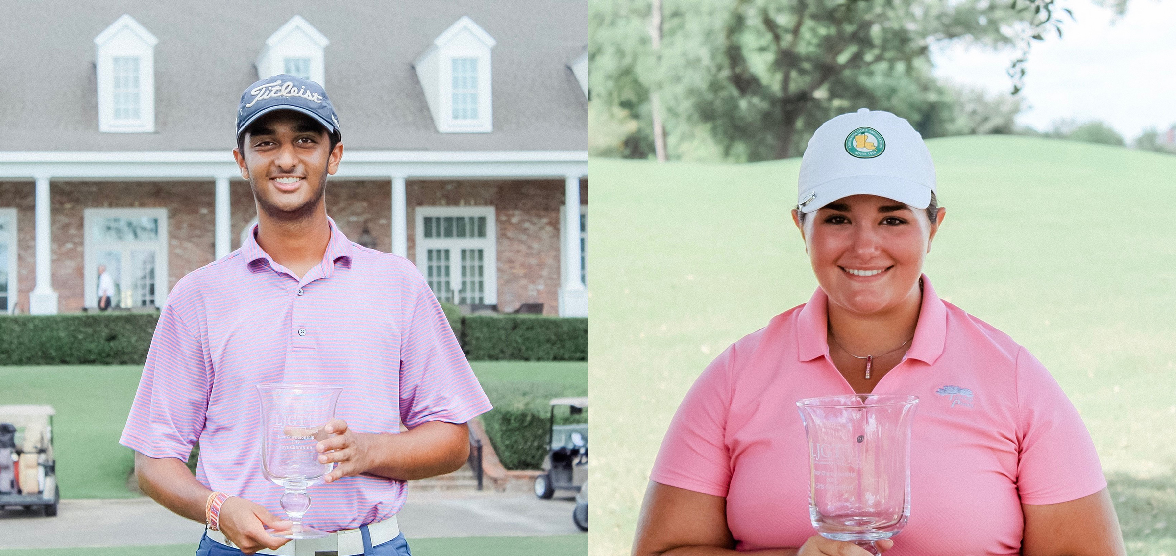 KARAN PATEL AND KAITLYN MONTOYA WIN LOUISIANA JUNIOR GOLF TOUR – TOUR CHAMPIONSHIP