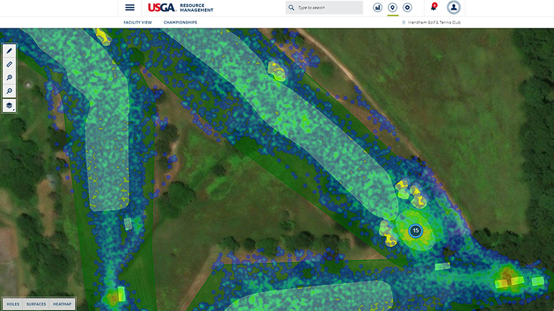 The USGA GPS Service Can Identify Where Golfers Are Not Going On Your Course
