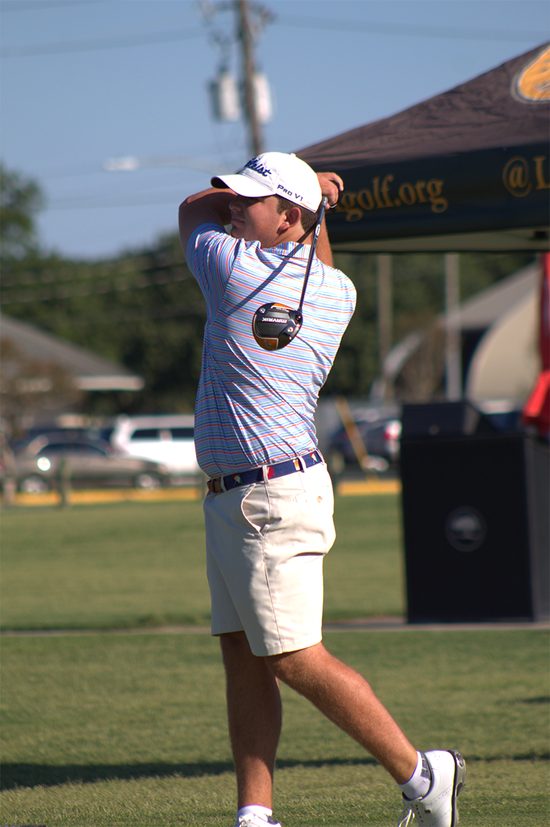Jake Marler Leads 101st Louisiana Amateur Championship After First Round Play