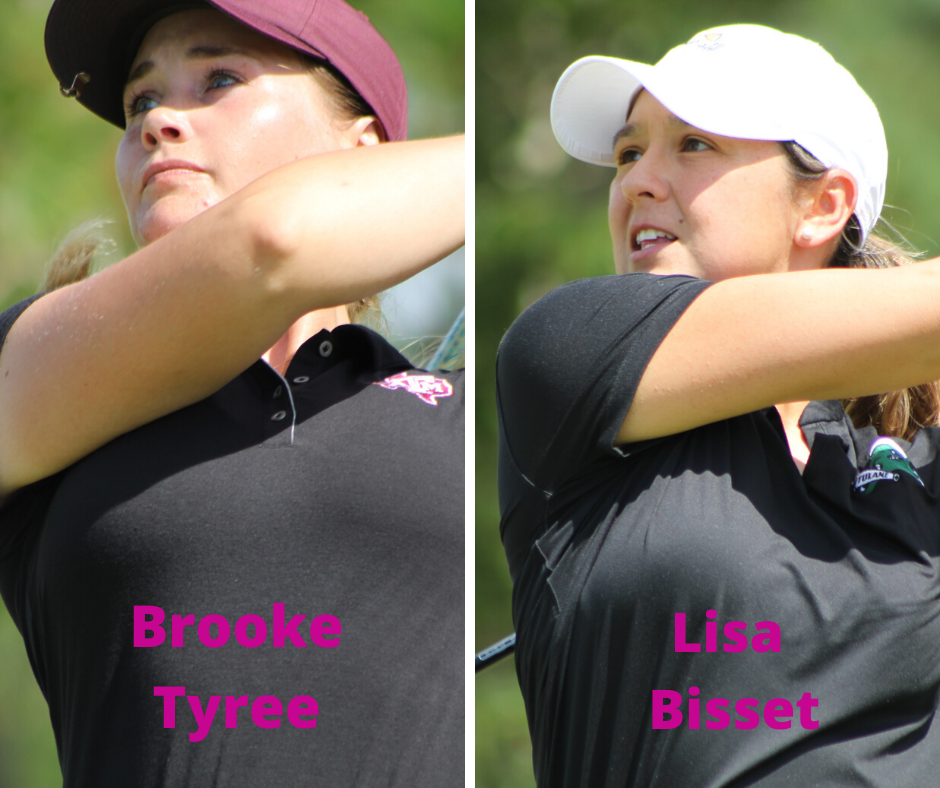 BROOKE TYREE AND LISA BISSET ADVANCE TO 92nd LOUISIANA WOMEN'S AMATEUR FINAL